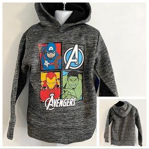 🆕Boy's Marvel Avengers Hoodie Size 6